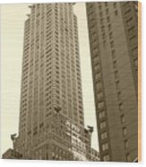 Chrysler Building Wood Print