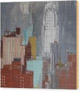 Chrysler Building, New York Wood Print