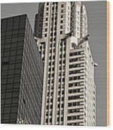 Chrysler Building New York Wood Print