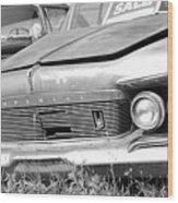 Roadside Imperials -  Bw Wood Print