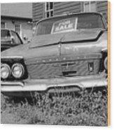 Chrysler Imperials - Bw Wood Print