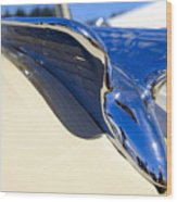 Chrysler New Yorker Deluxe Hood Ornament Wood Print
