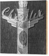 Chrystler Emblem Wood Print