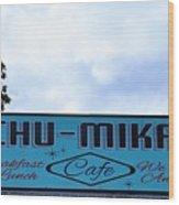 Chu - Mikals - Friendly Austin Texas Charm Wood Print