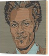 Chuck Berry - Brown-eyed Handsome Man  Wood Print