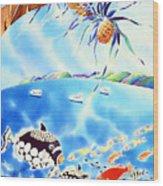 Churaumi Paradise Wood Print