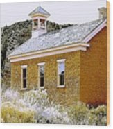 Church - Grafton Utah Wood Print