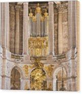 Church Altar Inside Palace Of Versailles Wood Print