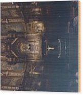 Church Altar  Wood Print