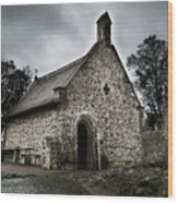 Church At Castle Frankenstein Wood Print