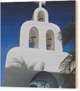 Church At Playa Del Carmen Wood Print