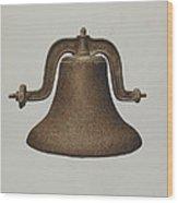 Church Bell Wood Print