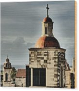 Church Bell Tower, Old Havana Wood Print