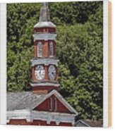 Church Building Wood Print