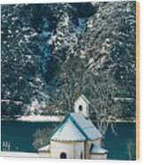 Church By The Achensee Wood Print