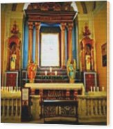 Church Colors Wood Print