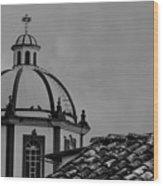Church Dome 1 Wood Print