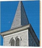 Church Drawing Wood Print