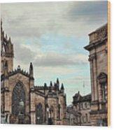 Church Edinburgh II Wood Print
