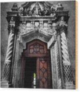Church Entrance Wood Print