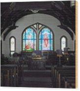 Church - Grand Caymans Wood Print