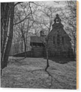Church Hill Wood Print