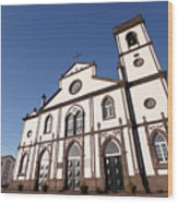 Church In Azores Islands Wood Print
