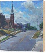 Church In Georgetown Downtown  Wood Print