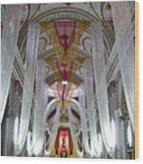 Church Interior 1 Guatemala  Wood Print