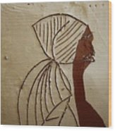Church Lady - Tile Wood Print