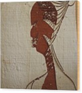Church Lady 10 -tile Wood Print