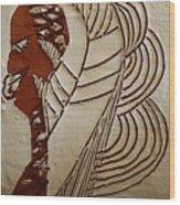 Church Lady 6 - Tile Wood Print