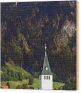 Church Of Bad Oberdorf  Wood Print