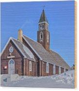 church of Ilulissat - Greenland Wood Print