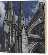 Church Of Ireland Wood Print