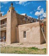 Church Of San Jose De Gracia In Las Trampas New Mexico Wood Print