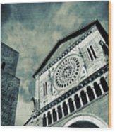 Church Of San Pietro - Tuscania Wood Print