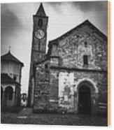 Church Of Santi Gervasio And Protasio Wood Print