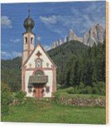 Church Of St. Johann In Ranui Wood Print
