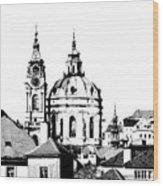 Church Of St Nikolas Wood Print