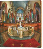 Church Of St. Paul The Apostle Wood Print