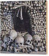 Church Of The Bones Wood Print