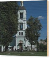 Church Of The Holy Mother Of God The Source Of Life At Tsaritsyno Park Wood Print