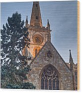 Church Of The Holy Trinity Stratford Upon Avon 4 Wood Print