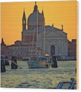 Church Of The Redentore In Venice Wood Print