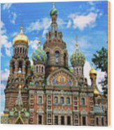 Church Of The Spilled Blood Wood Print