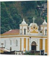 Church Of The Transfiguration Quetzaltenango Guatemala 2 Wood Print