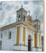 Church Of The Transfiguration Quetzaltenango Guatemala 5 Wood Print