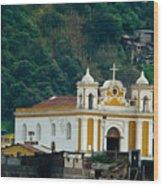 Church Of The Transfiguration Quetzaltenango Guatemala Wood Print