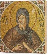 St. Anthony Wood Print